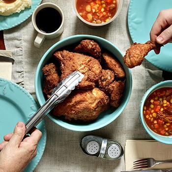 A big bowl of delicious chicken