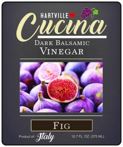 Hartville Cucina Fig Dark Balsamic Vinegar label