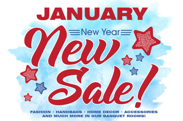 New Year, New Sale