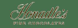 Honadle's Fine Chocolates logo