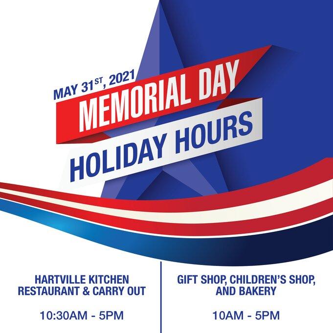 Memorial Day Hours 2021