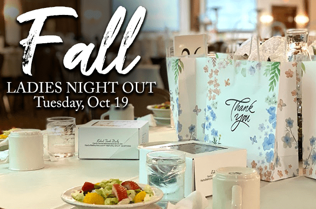 Ladies Night Out - Tuesday Evening