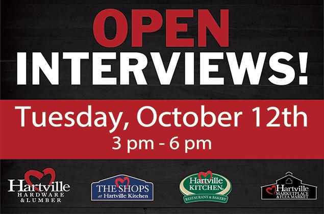 Job Fair & Open Interviews